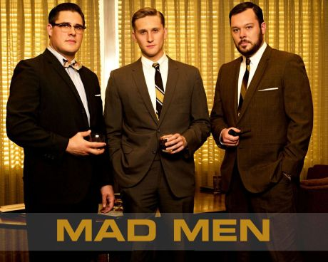 mad men three guys