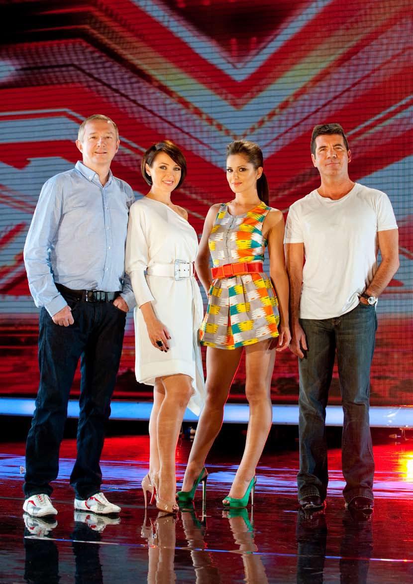 X Factor Judges 2010 Evolution on the Consu...