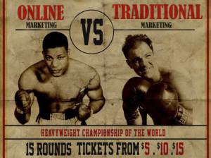 Online versus traditional